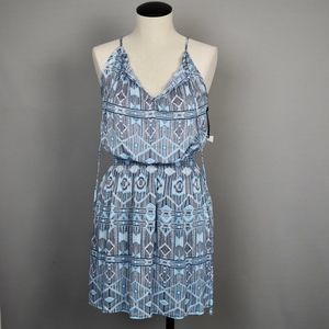 (BB Dakota) Printed Halter Dress